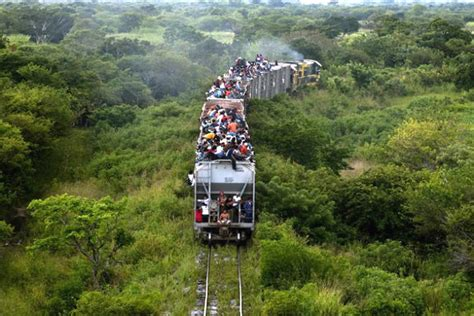 Los Migrantes Cambiaron A 'la Bestia' Por Tráileres Que