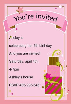 Here we are sharing #invitation #card for a birthday party