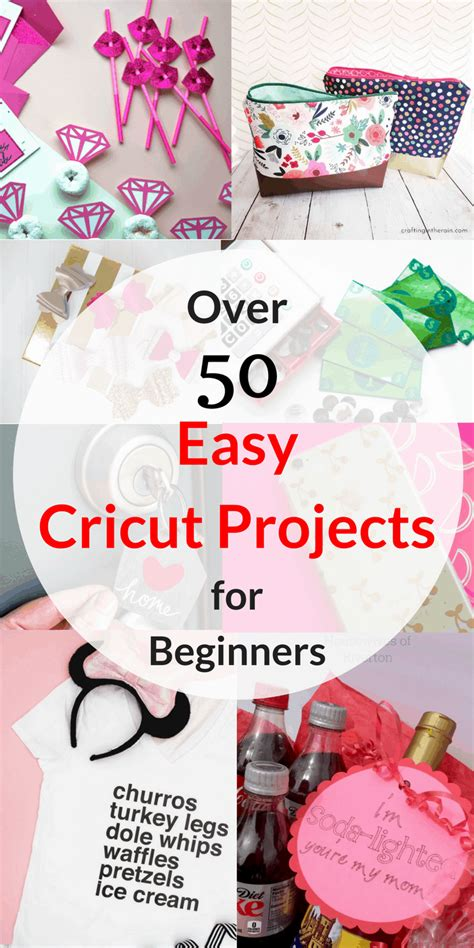 easy cricut projects  beginners tastefully frugal
