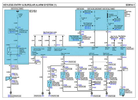 2005 hyundai tucson alarm wiring diagram 40 wiring