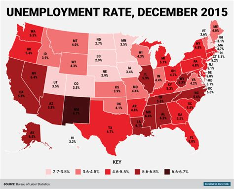 statistics bureau usa here 39 s every us state 39 s unemployment rate