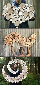Dekorationen Aus Holz : 1001 ideen wie sie eine kreative wanddeko selber machen krea wanddeko selber machen ~ Yasmunasinghe.com Haus und Dekorationen