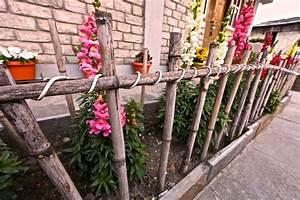 Cloturer Son Jardin Pas Cher : cl ture de jardin originale en cinquante id es captivantes ~ Melissatoandfro.com Idées de Décoration