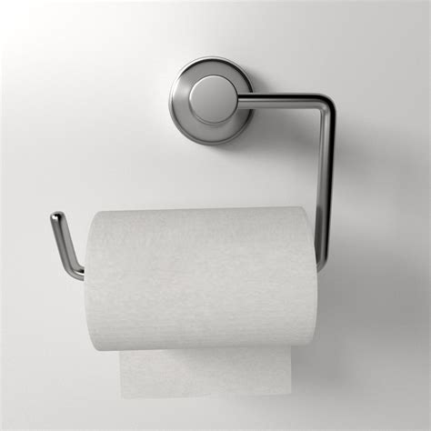 toilet paper 3d toilet paper holder 3d model 3ds fbx blend dae cgtrader