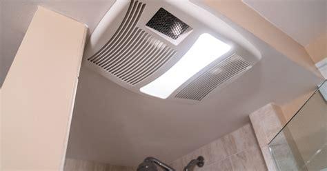 install  bathroom heater fan light combo