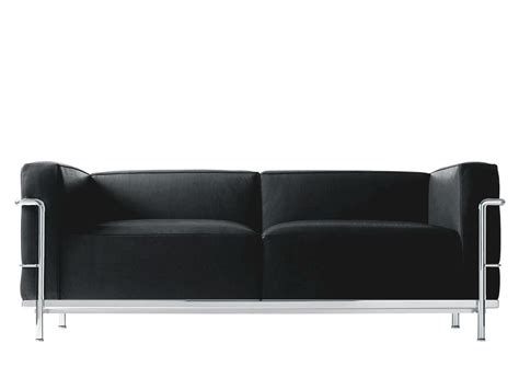 cassina lc3 sofa by le corbusier jeanneret