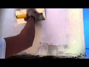 Comment Lisser Un Mur : appliquer un enduit de lissage lisser un mur astuce ~ Dailycaller-alerts.com Idées de Décoration