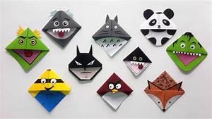 Marque Page En Papier : atelier marque pages en origami ~ Melissatoandfro.com Idées de Décoration