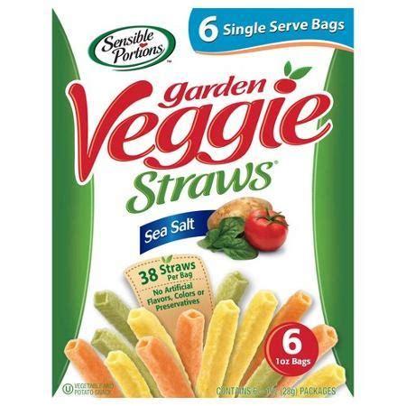 garden veggie straws sensible portion garden veggie straws sea salt reviews in