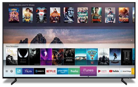 Samsung Smart Tv 2019 Modellen Ondersteunen Itunes Movies