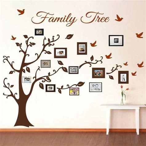 Wandtattoo Bilderrahmen Baum by Best 25 Family Tree Wall Decor Ideas On