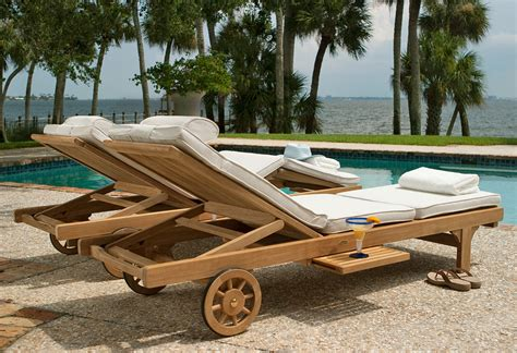 somerset reclining adjustable teak outdoor chaise