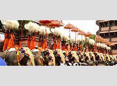 Thrissur Pooram Elephants Festival