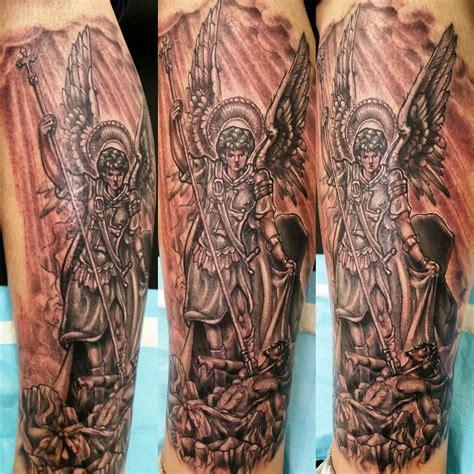 saint michael tattoos designs meanings