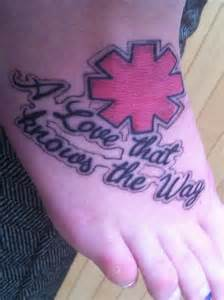 Red Hot Chili Peppers Tattoo