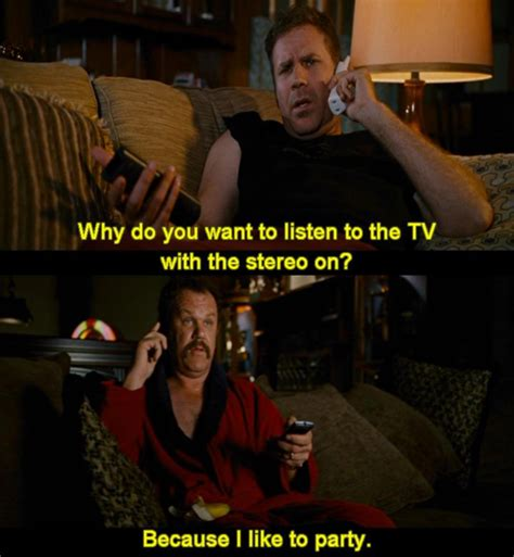 talladega nights quotes i like to party