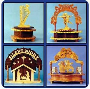 Downloadable Music Box Value Pack of Patterns – Scrollsaw com