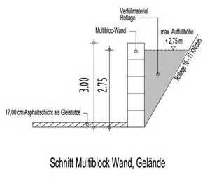 Gabionen Stützmauer Berechnen : st tzmauer aus multibloc steinen eine schnelle und g nstige alternative openpr ~ Themetempest.com Abrechnung