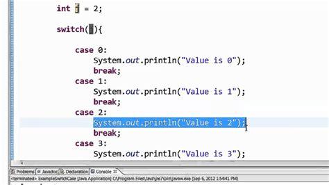 p switch case statement beginner java ap computer