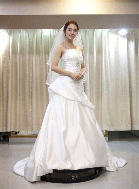 chanmis star news yoon eun hye   wedding dress