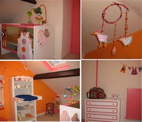d馗oration chambre enfants déco chambre enfant orange