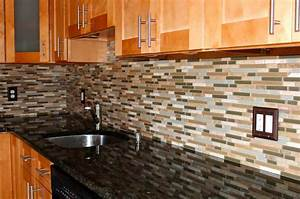 Mosaic glass tiles for kitchen backsplashes ideas home for Glass backsplash tiles for kitchen
