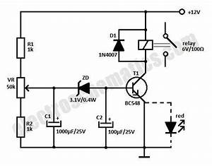 12v time delay relay circuit for On delay wiring