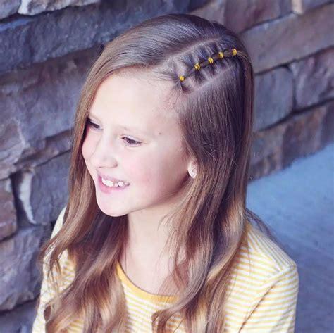 belles coiffures pour votre petite fille inspirez vous