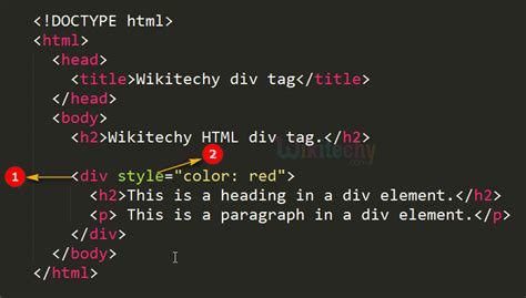Div Div Div by Html Tutorial Division Tag In Html Html5 Html Code