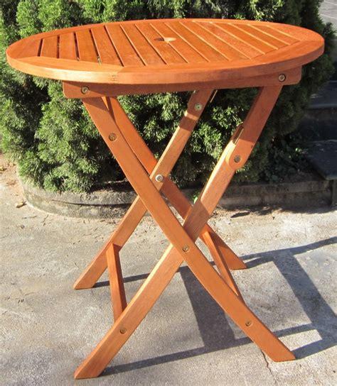 Runder Tisch Garten by Hardwood Wooden Folding Garden Table Folding Wood