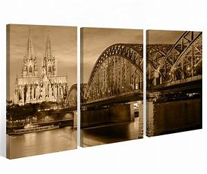 Leinwand Köln Skyline : leinwand k ln 3 tlg k lner dom city skyline stadt cologne ~ Sanjose-hotels-ca.com Haus und Dekorationen