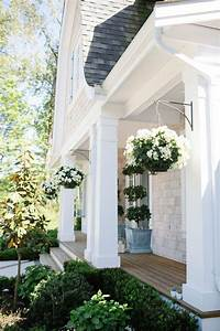 Hanging, Planters, Front, Of, House, Homeremodelingideas