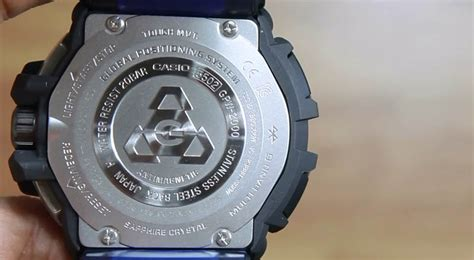jam tangan casio g shock gpw 2000 casio g shock gravity master gpw 2000 1a2 indowatch co id