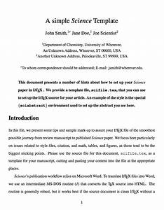 image gallery journal article format With academic journal template word