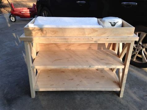 baby changing table woodworking plans baby changing