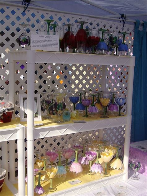wine glass display  judipaintedit  flickr wine