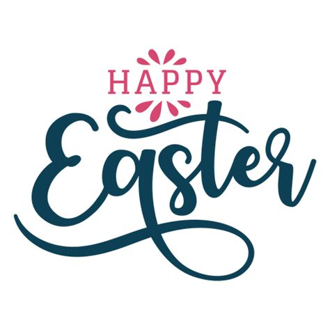 happy easter swirls lettering ad aff sponsored
