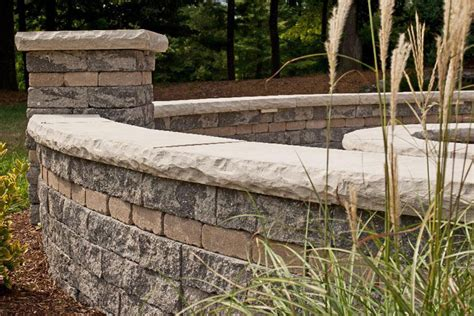 Retaining Wall  Benson Stone Co  Rockford, Il