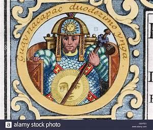 Huayna Capac (h.1465-1525). Inca emperor (1493-1525). Son ...