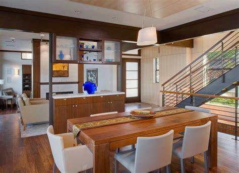 ruang makan  lampu gantung majalah rumah