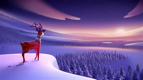 animation of christmas vodafone ireland tv ad 2012 welcome home