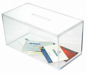 Business card collection box for Business card collection