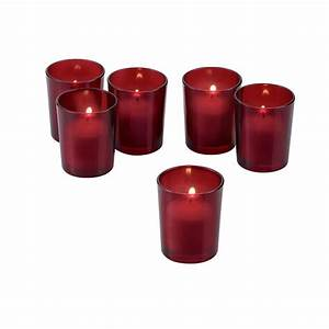 light in the dark red frosted glass round votive candle With kitchen colors with white cabinets with black glass votive candle holders
