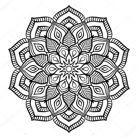 Mandala Kleurplaten zwarte mandala kleurplaat stockvector 169 amovitania