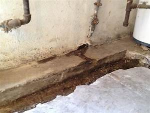 Woods basement systems inc basement waterproofing for Water coming up from basement floor