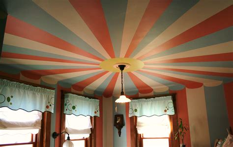 Ceiling Tent circus tent painted ceiling domain paint