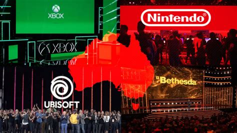 All The Australian Times For The 2021 E3 Press Conferences