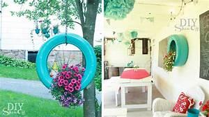 20 decorations de jardin a faire soi meme diaporama photo With déco chambre bébé pas cher avec pot fleur couleur plastique