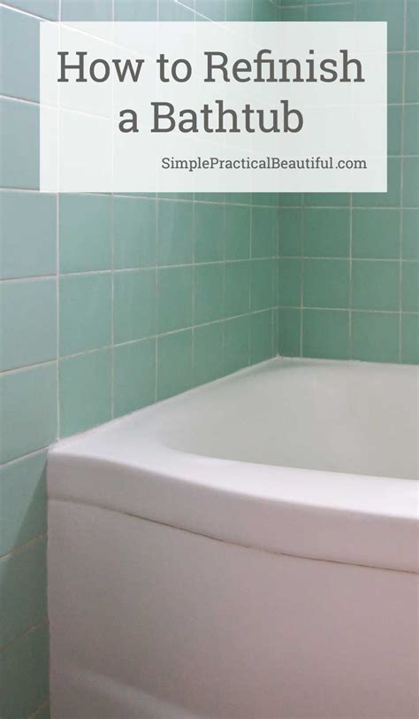 My Experience Refinishing A Bathtub With Rustoleum Tub