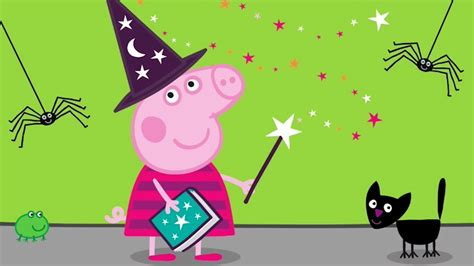 Peppa Pig English Episodes  Halloween Special  #075 Youtube